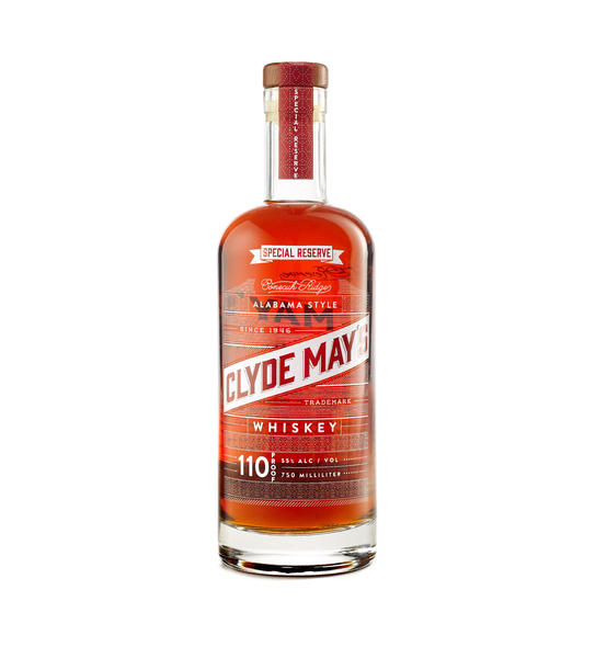 Clyde May's Alabama Style Whiskey Special Reserve 110 Proof