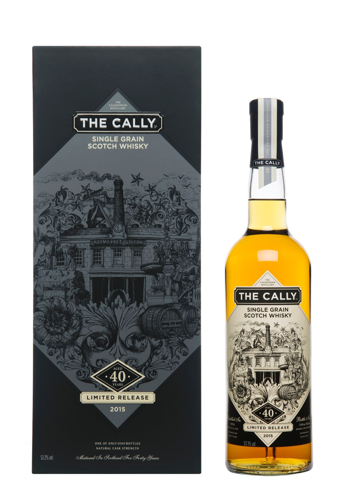 The Cally 40 Years Old Single Grain Limited Edition 2015