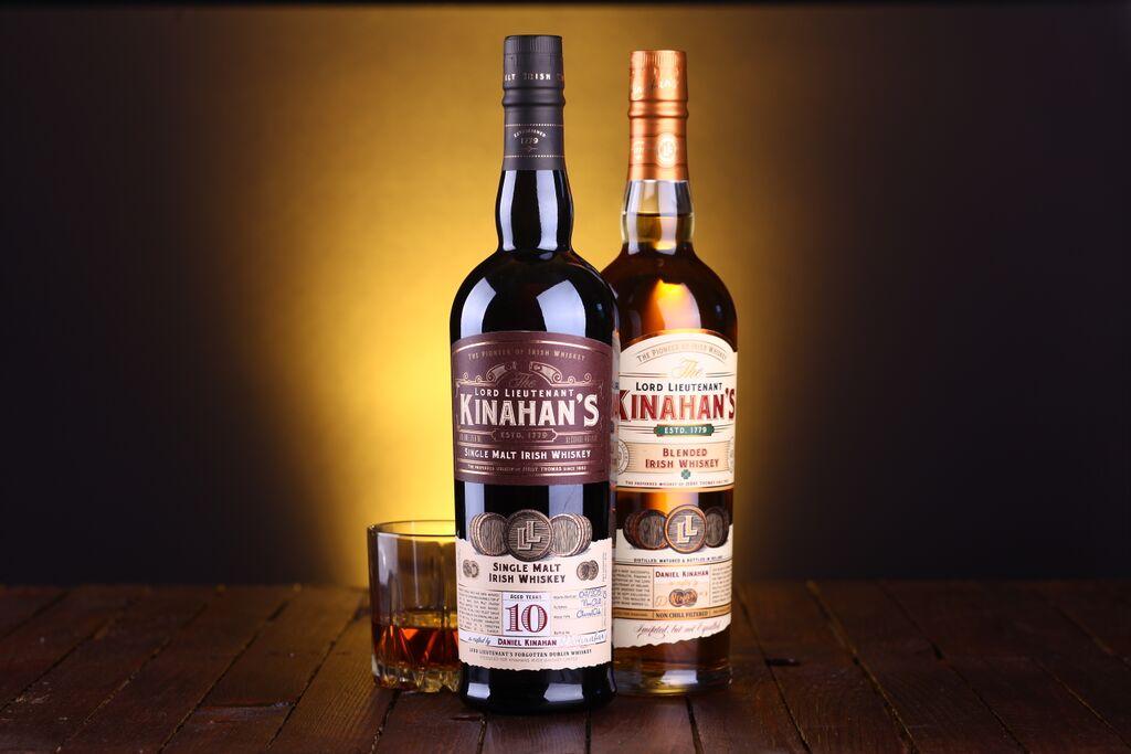 Kinahan's Single Malt Irish Whiskey 10 Years Old