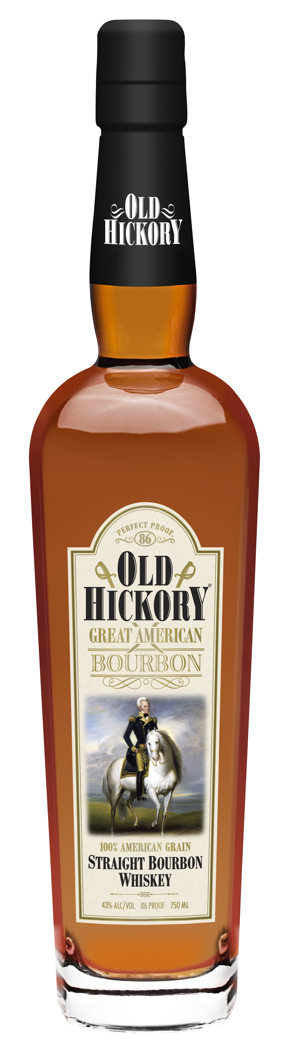 Old Hickory Great American Whiskey Straight Bourbon Whiskey