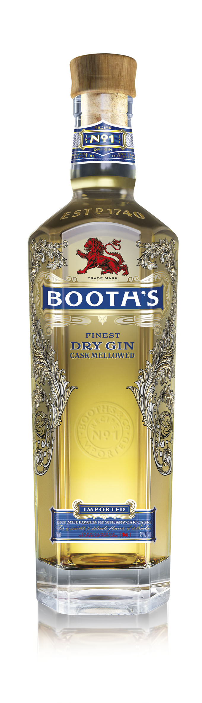 Booth's Recipe No. 1 Finest Dry Gin Cask Mellowed