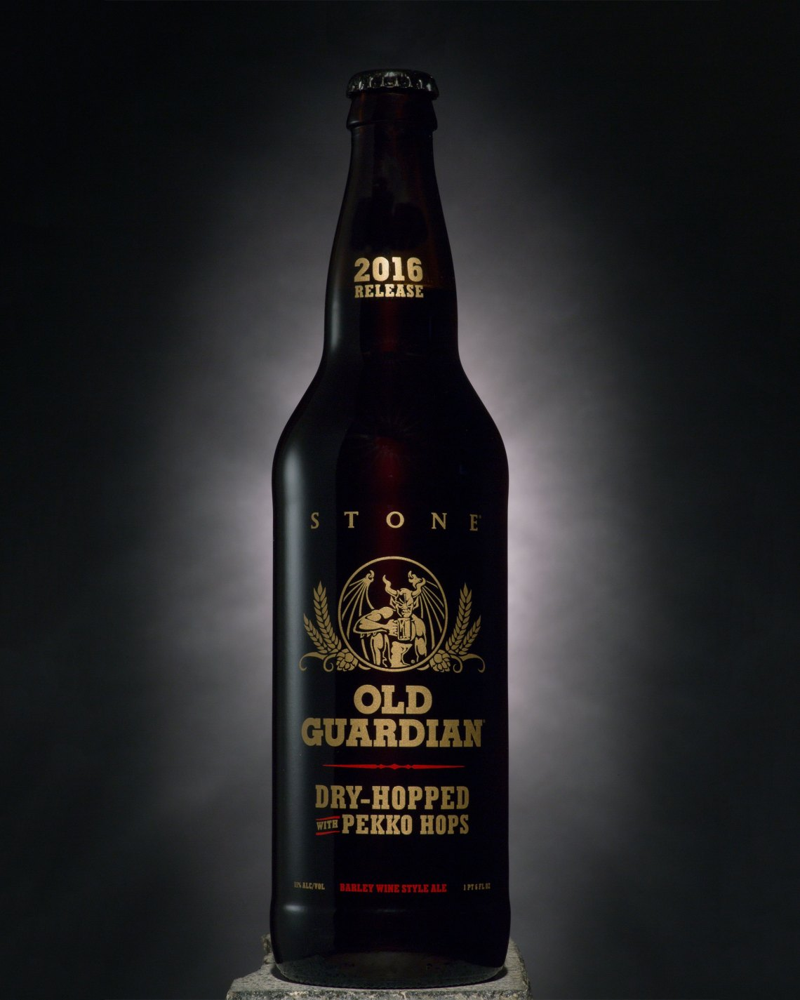 Stone Old Guardian Barley Wine Dry-Hopped with Pekko Hops 2016