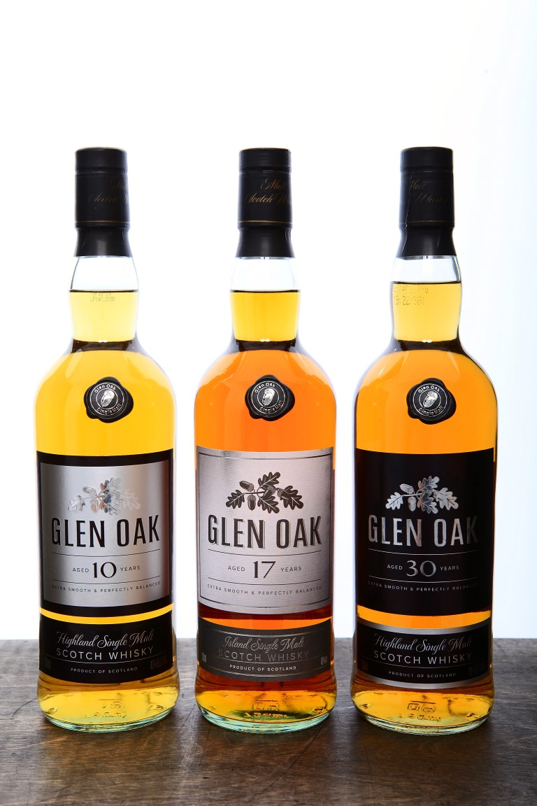 Glen Oak 30 Years Old Single Malt Scotch Whisky