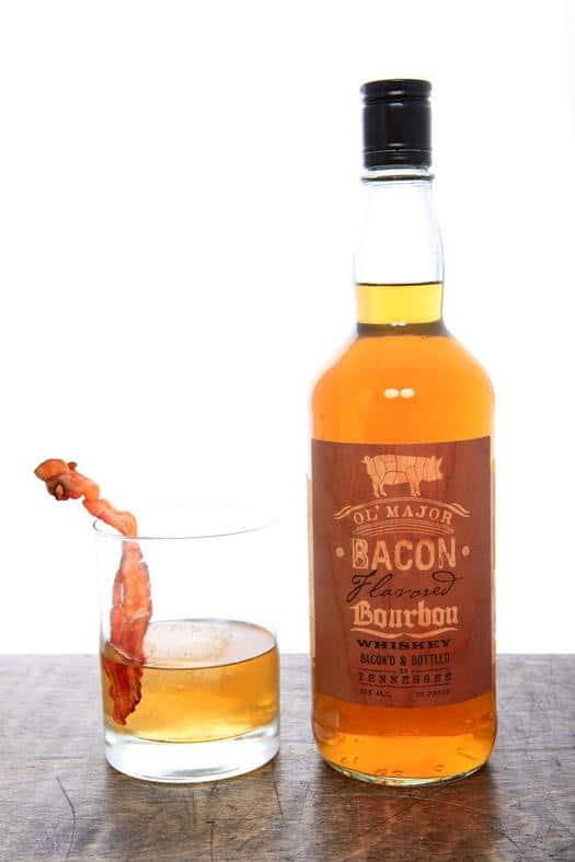 Ol' Major Bacon Flavored Bourbon