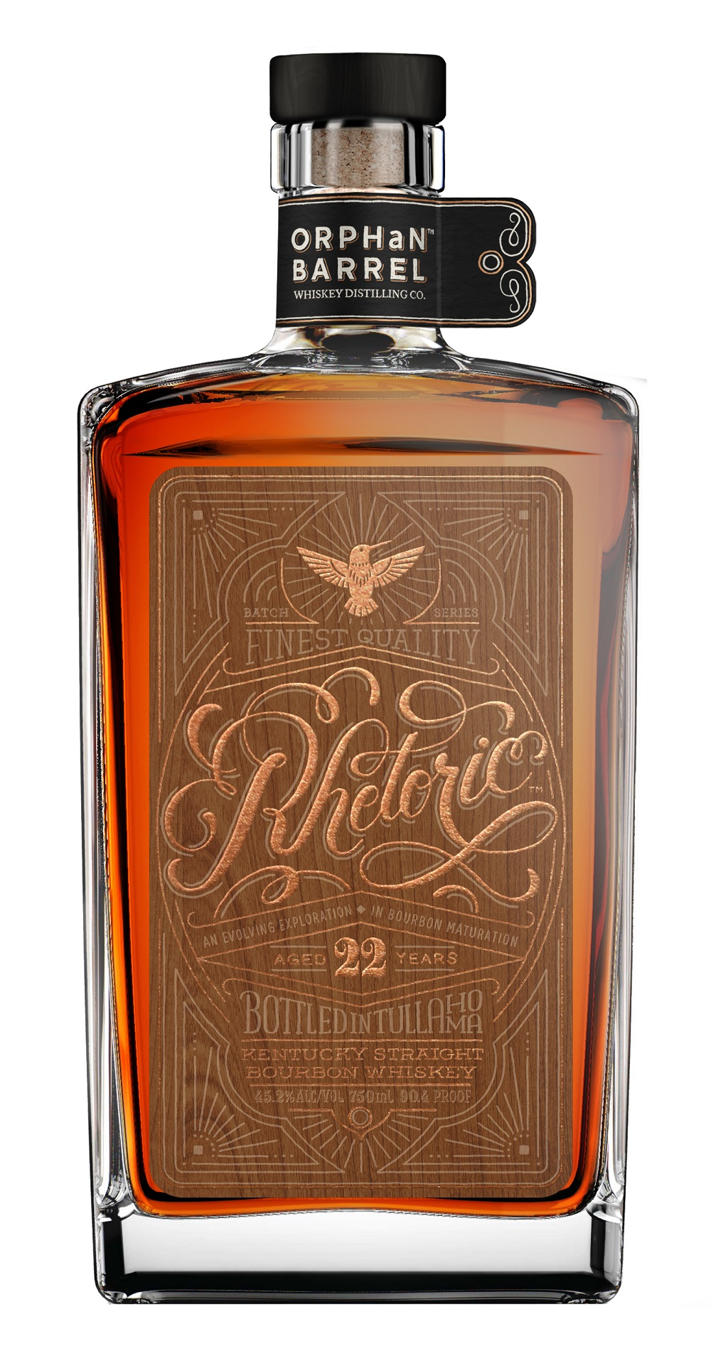 Diageo Orphan Barrel Project Rhetoric Bourbon 22 Years Old