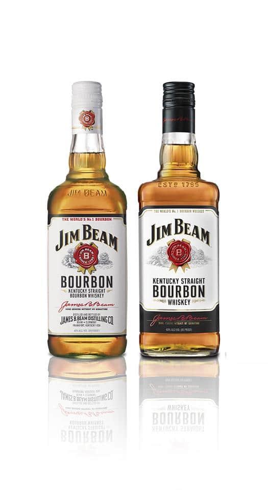 Jim Beam Kentucky Straight Bourbon Whiskey (White Label)