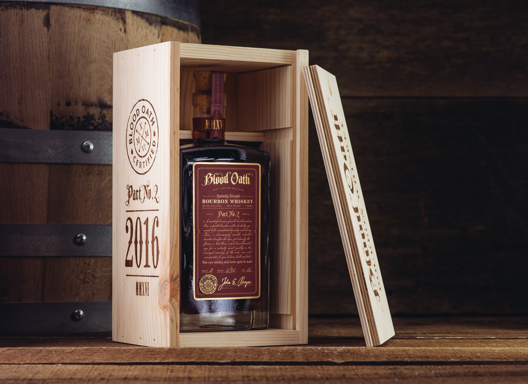 Blood Oath Bourbon Whiskey Pact No. 2 2016