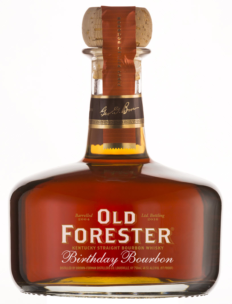 Old Forester Birthday Bourbon 2016 Edition