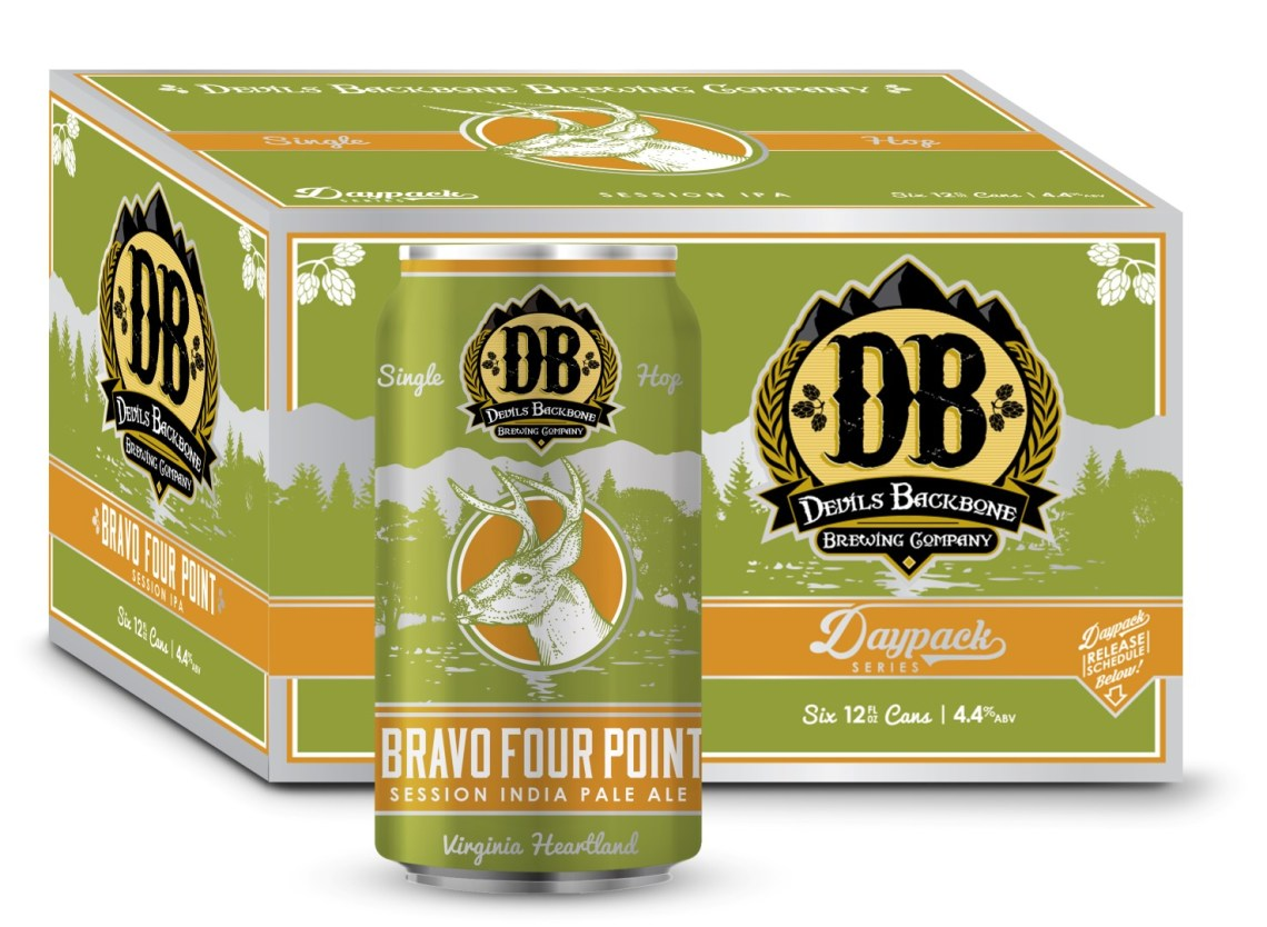 Devils Backbone Bravo Four Point Session IPA