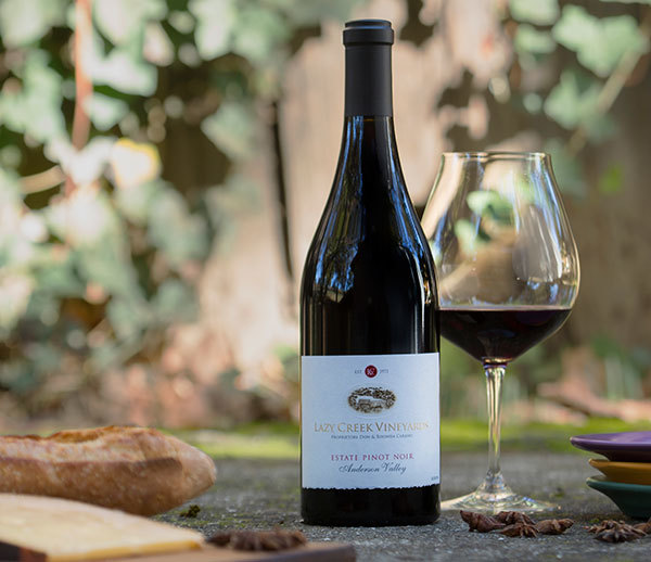 2014 Lazy Creek Vineyards Estate Pinot Noir