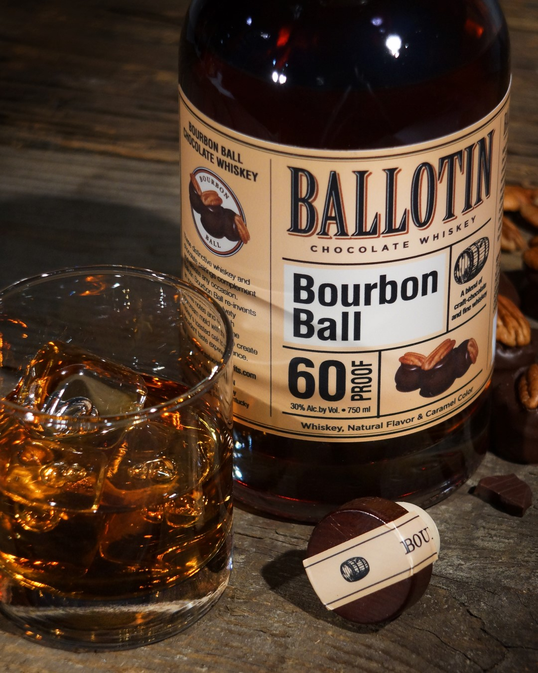 Ballotin Bourbon Ball Whiskey