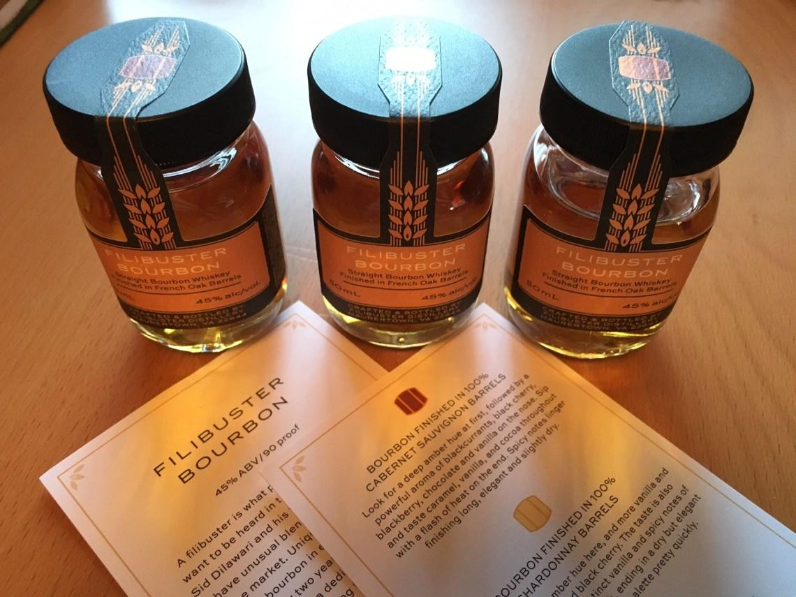 Filibuster Bourbon Finished in 100% Cabernet Sauvignon Barrels