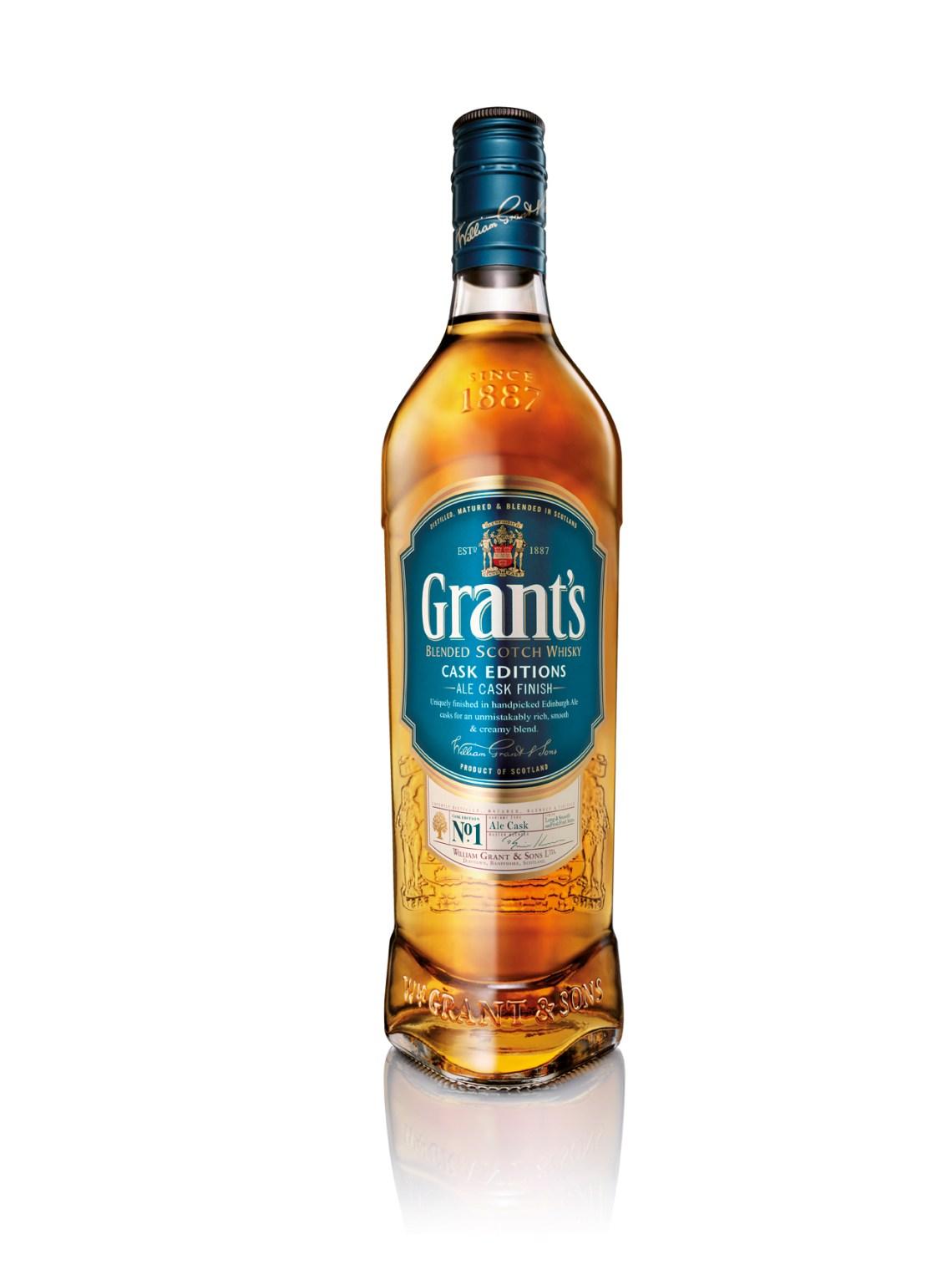 Grant's Blended Scotch Ale Cask Finish