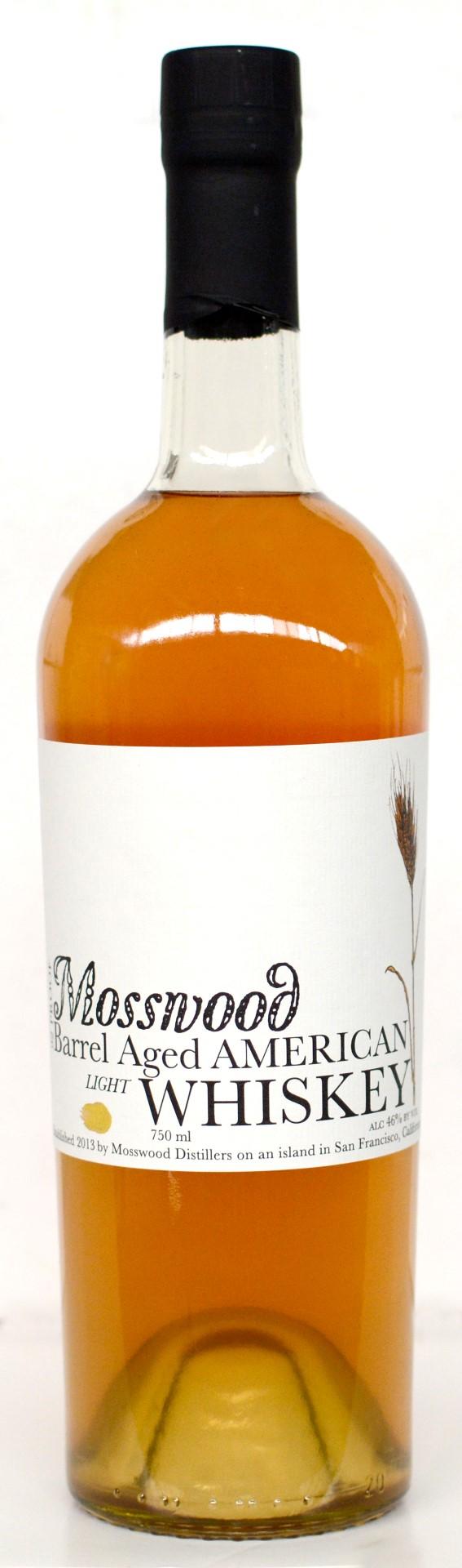 Mosswood Distillers Apple Brandy Barrel Aged Light American Whiskey