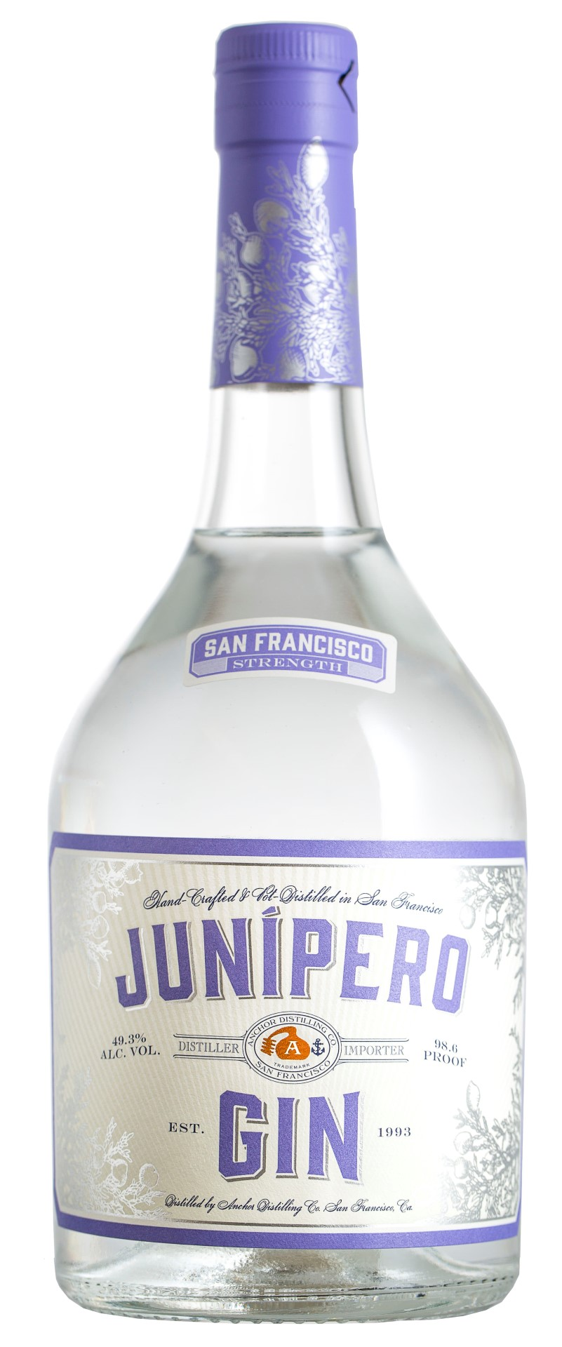 Anchor Distilling Junipero Gin San Francisco Strength