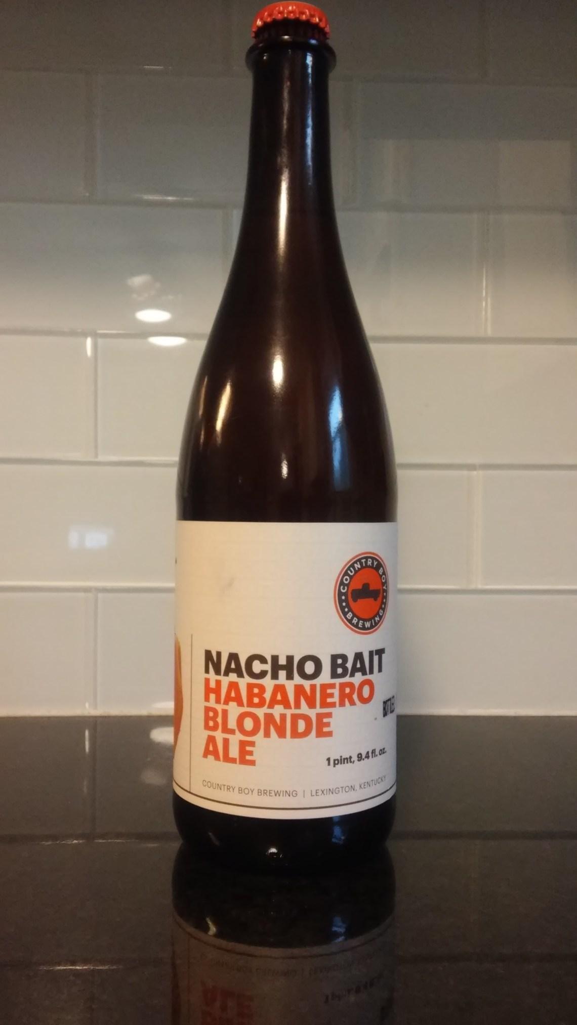 Country Boy Brewing Nacho Bait Habanero Blonde Ale