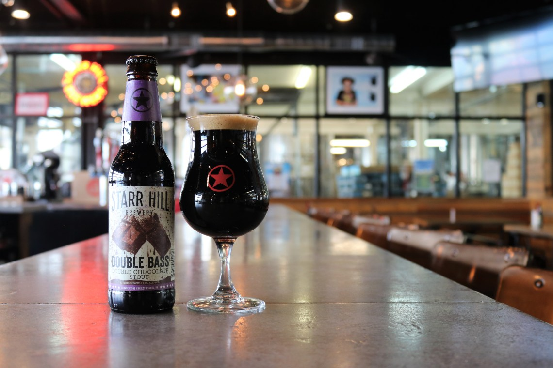 Starr Hill Double Bass Double Chocolate Stout (2017)