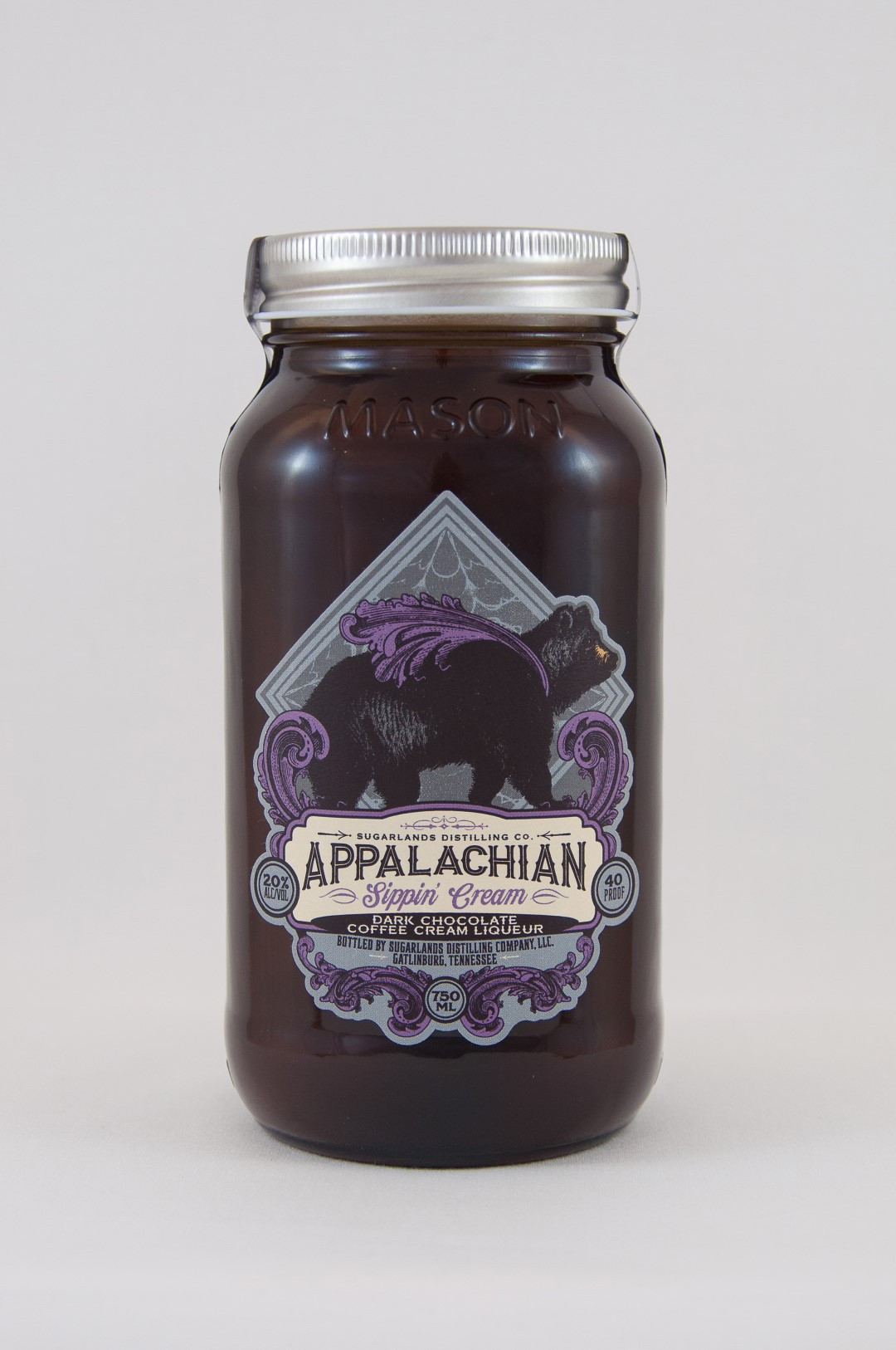 Sugarlands Appalachian Sippin' Cream Dark Chocolate Coffee Cream Liqueur