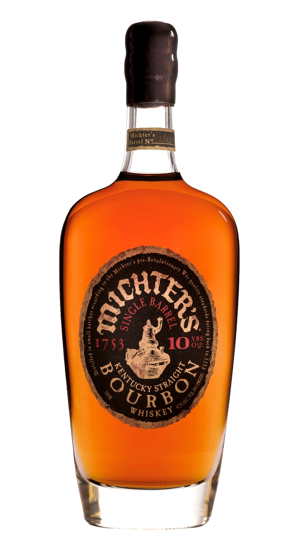 Michter's Single Barrel Bourbon 10 Years Old 2017