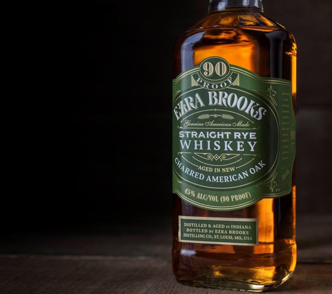 Ezra Brooks Straight Rye