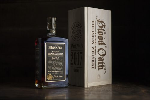 Blood Oath Bourbon Whiskey Pact No. 3 2017