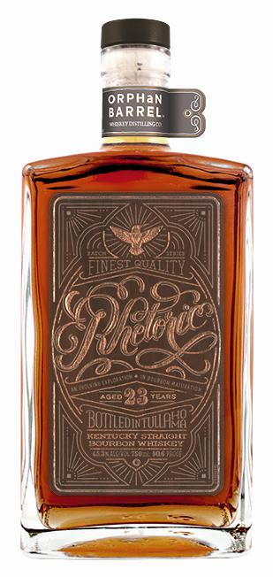 Diageo Orphan Barrel Project Rhetoric Bourbon 23 Years Old