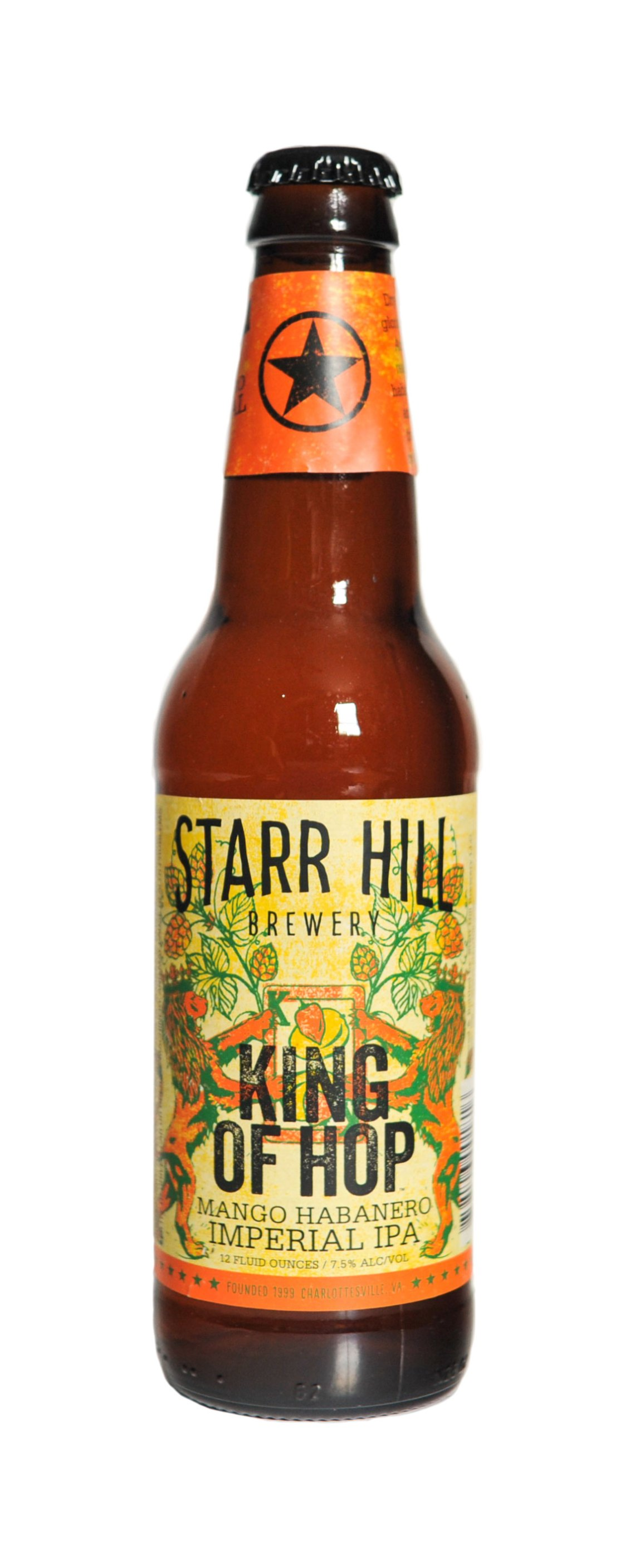Starr Hill King of Hop Mango Habanero Imperial IPA