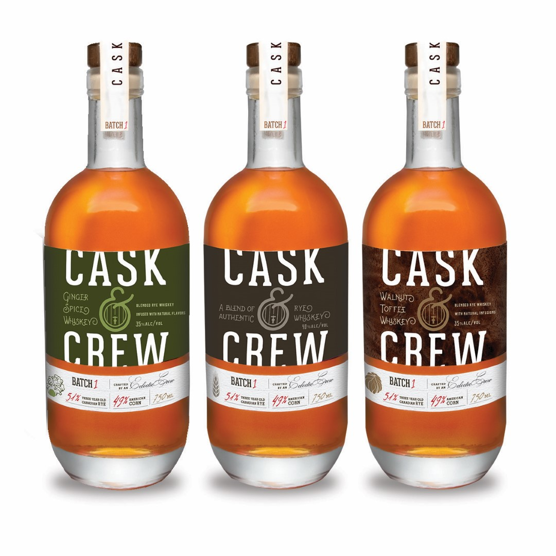 Cask & Crew Ginger Spiced Whiskey