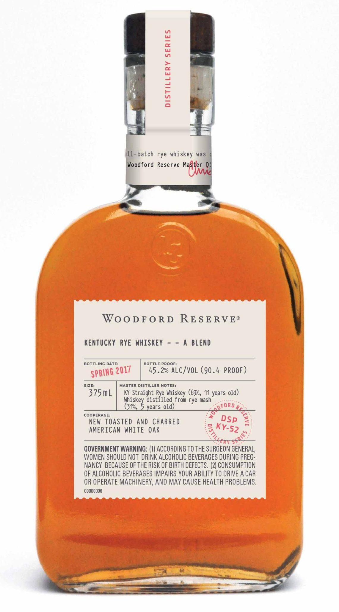 Woodford Reserve Distillery Series – Blended Rye