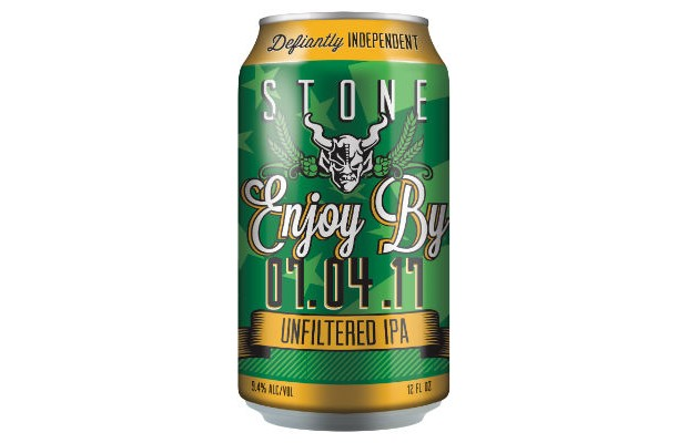 Stone Enjoy By 07.04.17 Unfiltered IPA