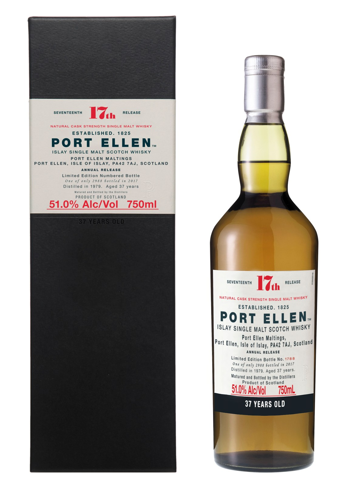 Port Ellen 37 Years Old Limited Edition 2017