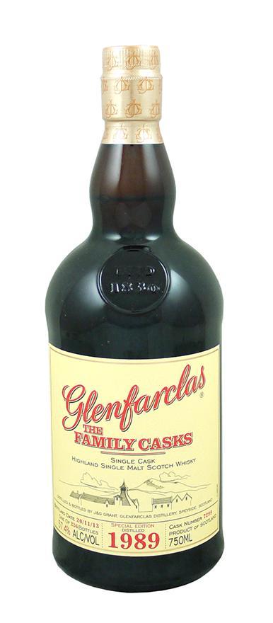 Glenfarclas The Family Casks 1989 from Astor Wines & Spirits