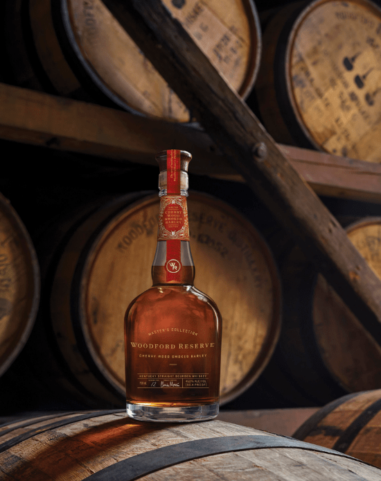 Woodford Reserve Master's Collection Cherry Wood Smoked Barley