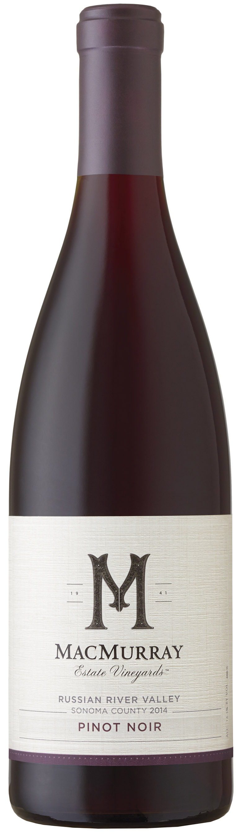2015 MacMurray Pinot Noir Russian River Valley