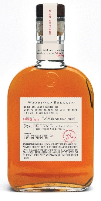 Woodford Reserve Distillery Series – French Oak Cask Finished Rye