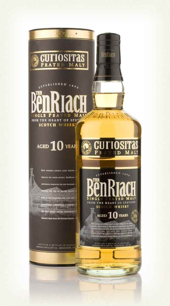 BenRiach Curiositas 10 Years Old (2018)