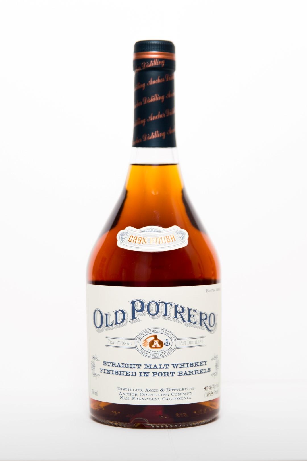 Anchor Distilling Old Potrero Straight Malt Whiskey Finished in Port Barrels
