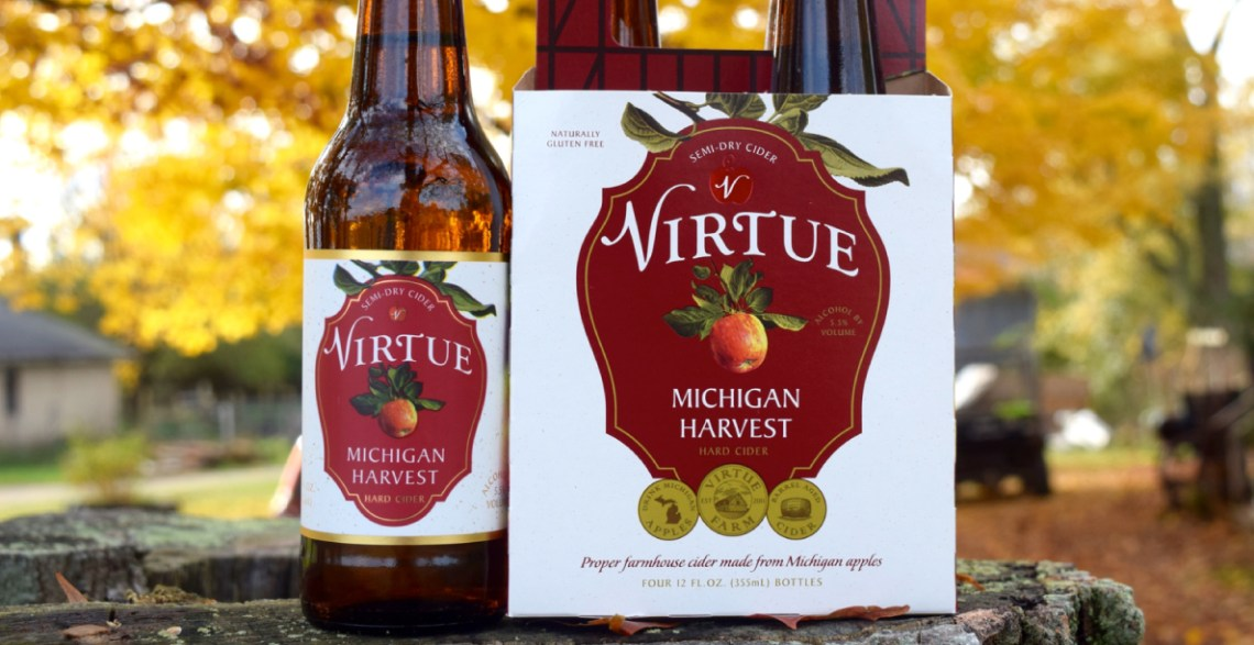 Virtue Cider Michigan Harvest
