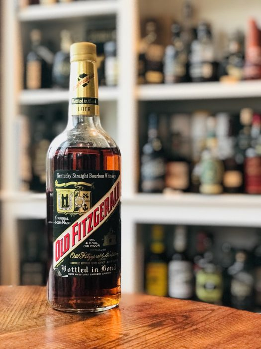 Old Fitzgerald Straight Bourbon Whiskey Bottled-in-Bond