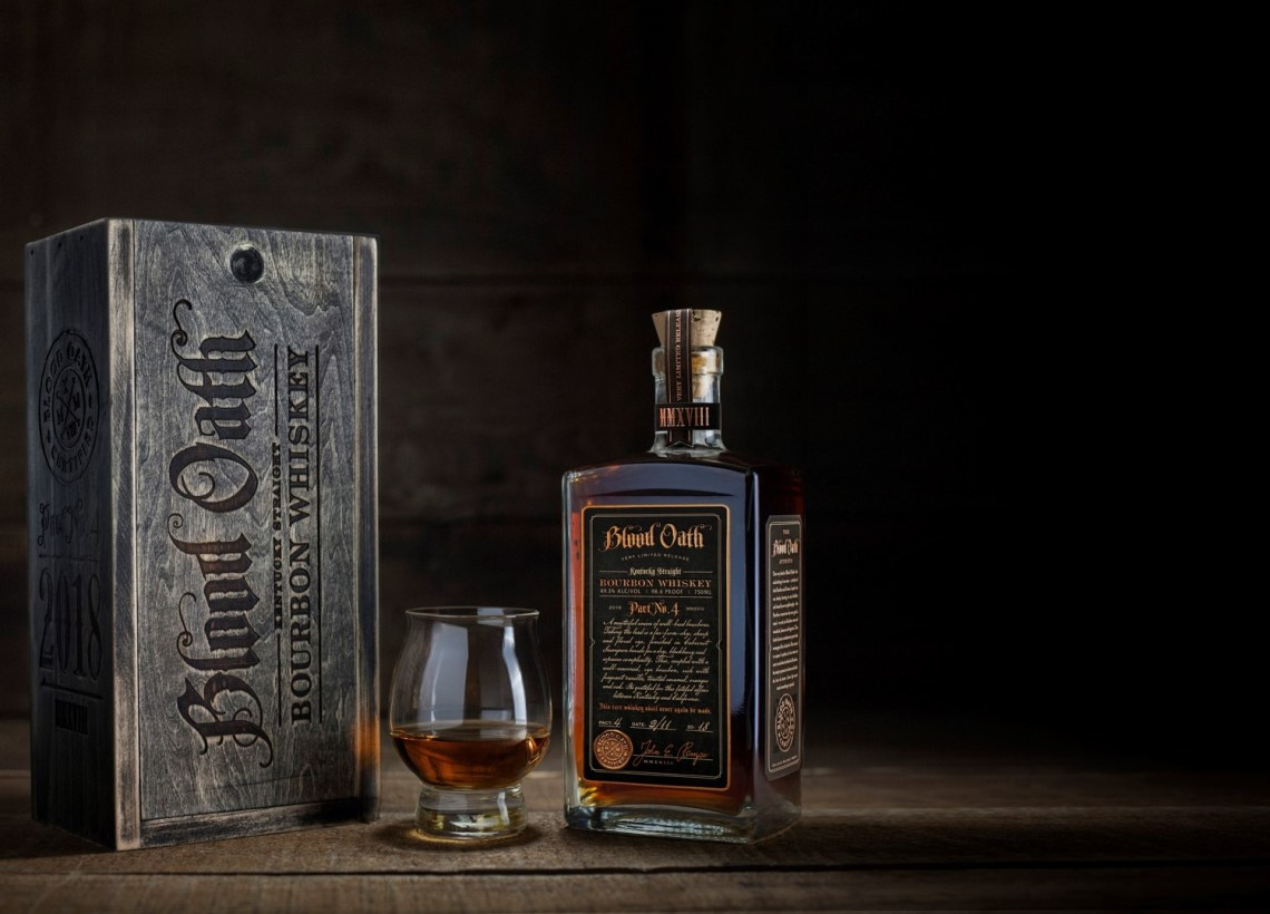 Blood Oath Bourbon Whiskey Pact No. 4 2018