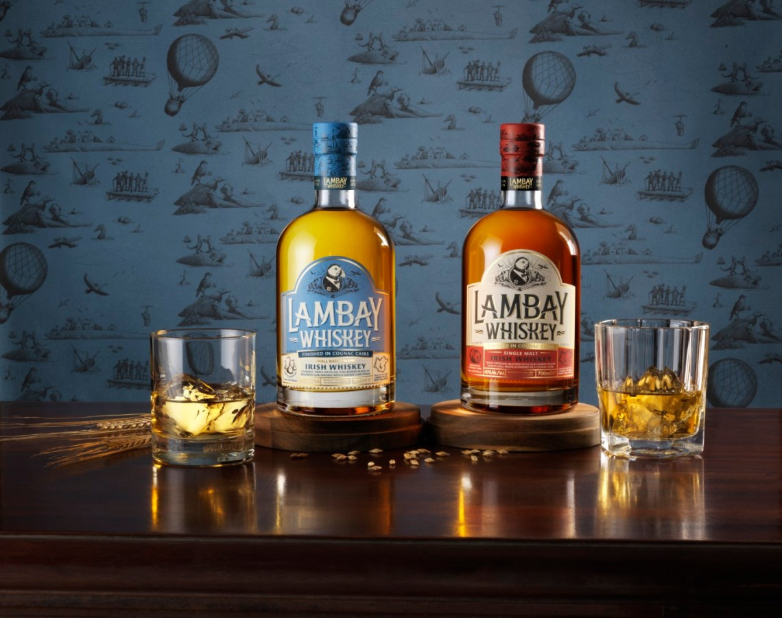 Lambay Irish Whiskey Small Batch Blend