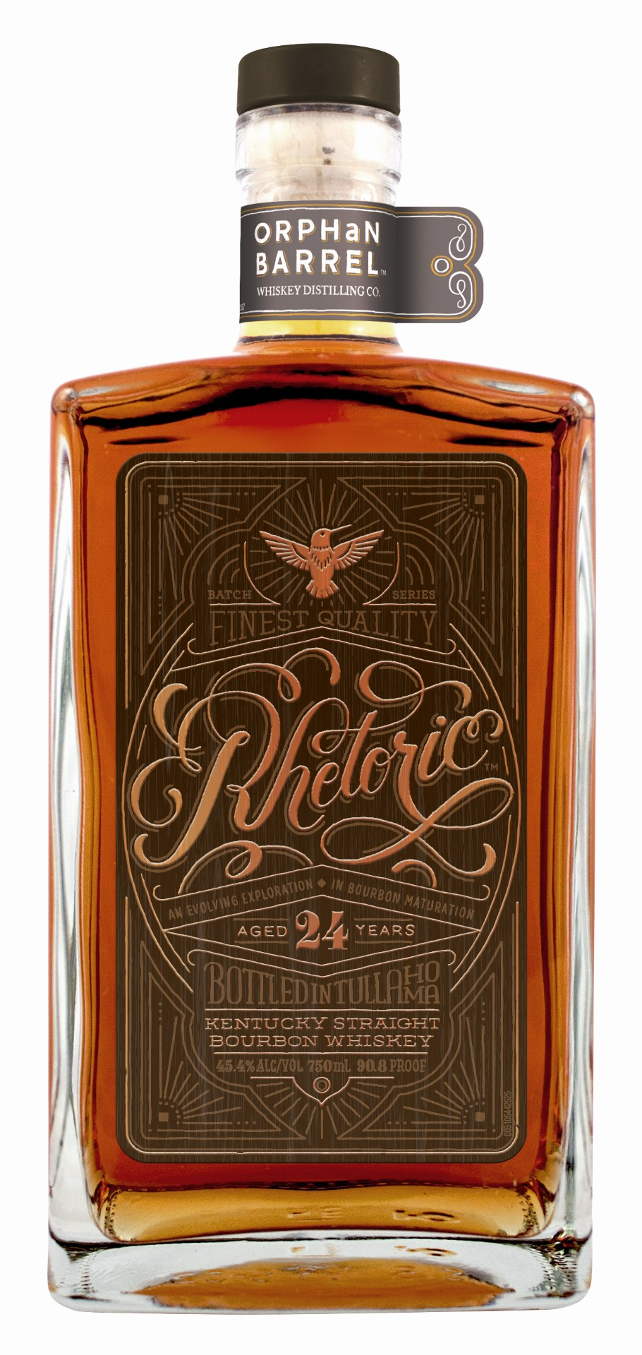 Diageo Orphan Barrel Project Rhetoric Bourbon 24 Years Old