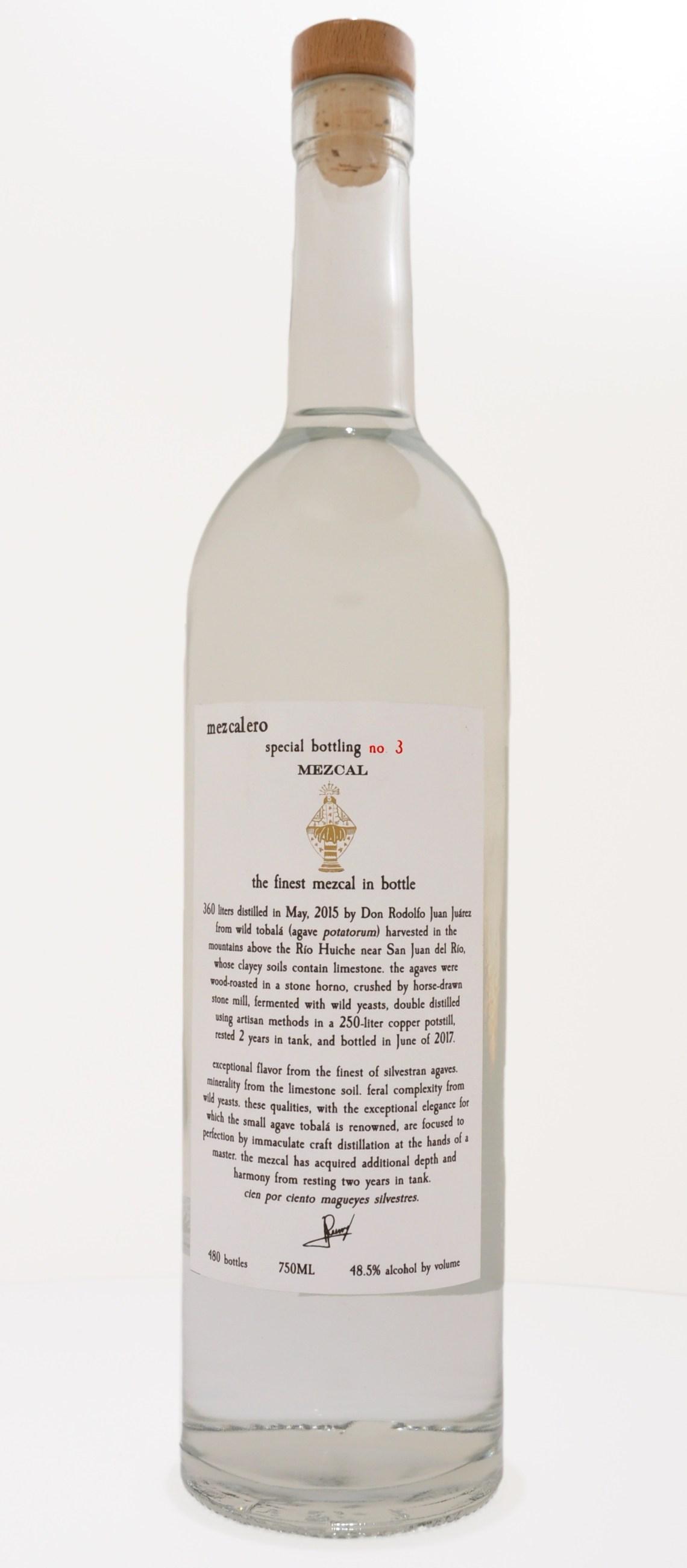 Mezcalero Special Bottling Release #3