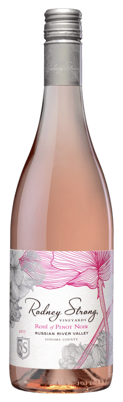 2017 Rodney Strong Vineyards Rose of Pinot Noir Russian River Valley