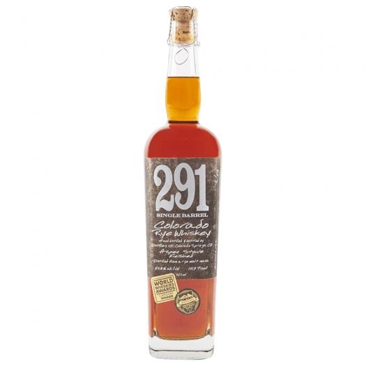 Distillery 291 Single Barrel Colorado Rye Whiskey