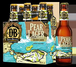 Devils Backbone Pear Lager