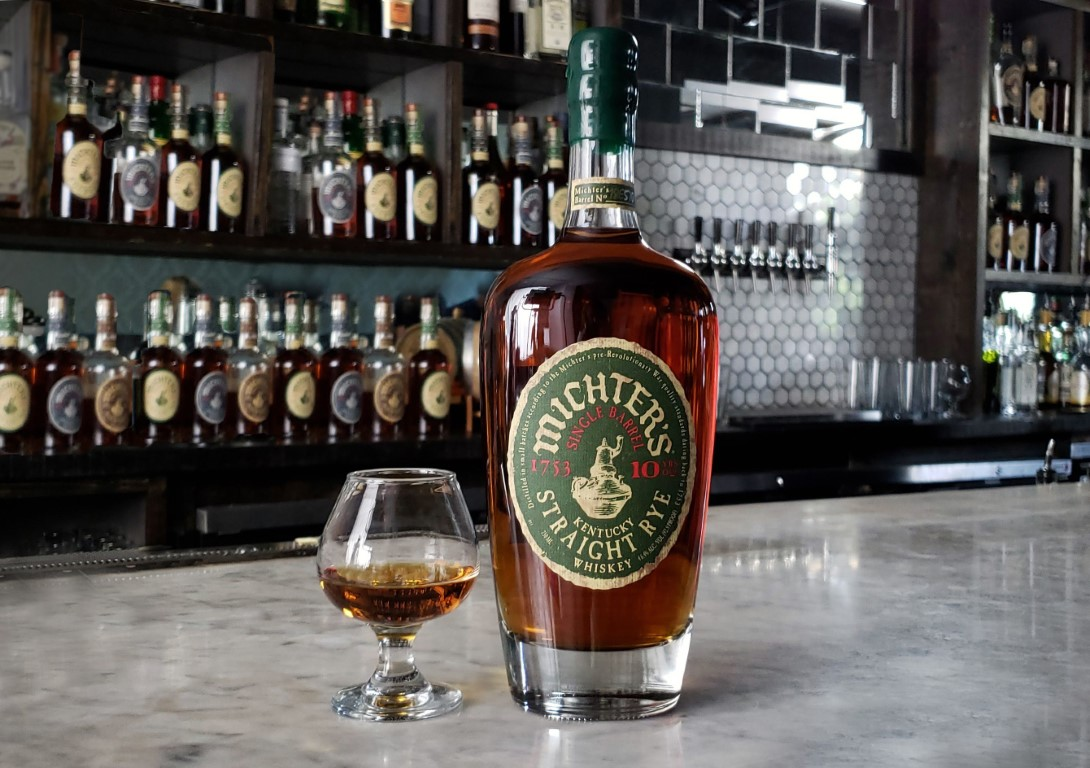 Michter's Single Barrel Straight Rye 10 Years Old 2018
