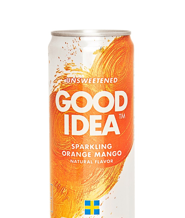 Good Idea: The Swedish Sugar Buster Sparkling Orange Mango