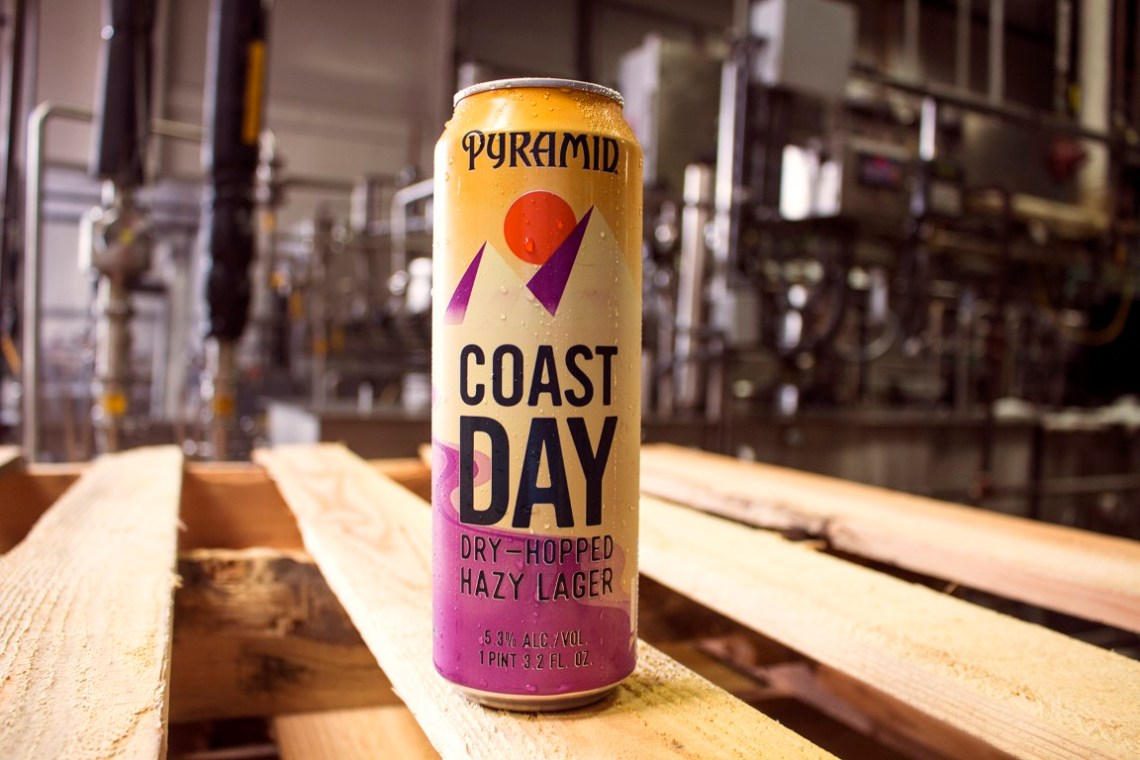 Pyramid Coast Day Dry-Hopped Hazy Lager