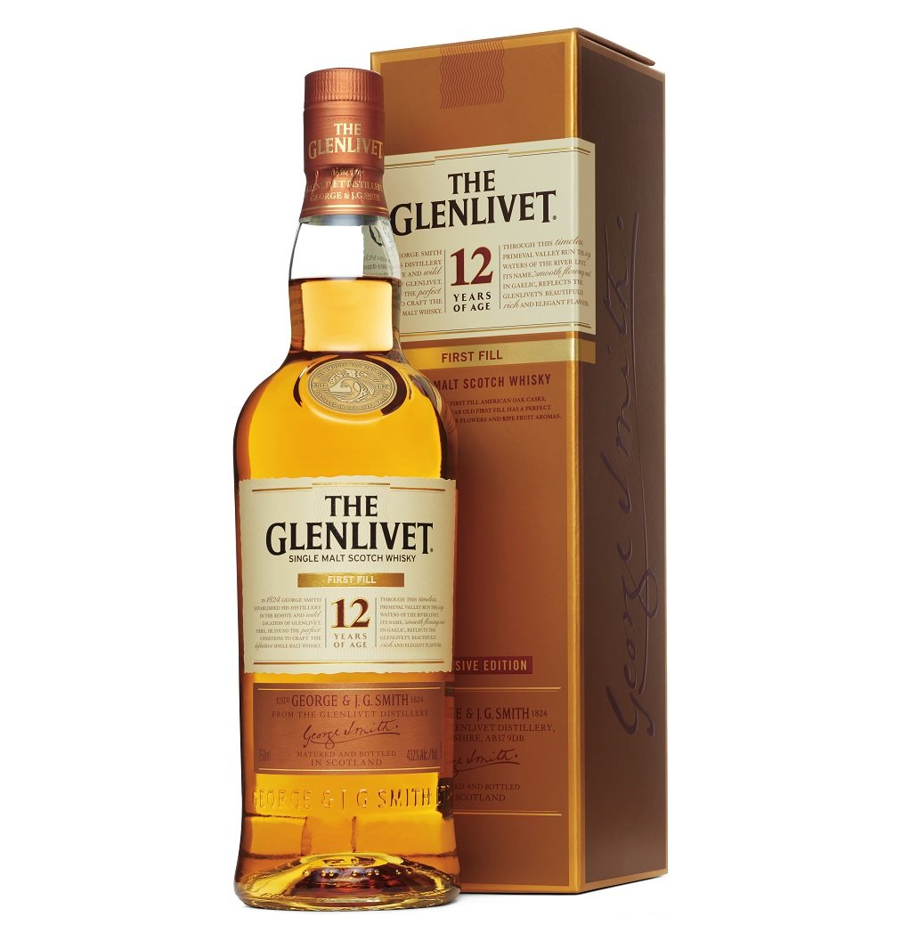 The Glenlivet 12 Years Old First Fill